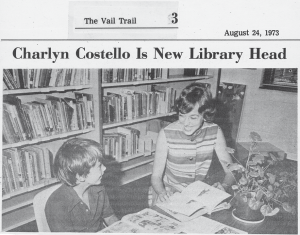 Vail Public Library's 35th Anniversary – Vail Public Library